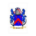 Siddell Sticker (Rectangle 50 pk)