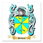 Sibson Square Car Magnet 3