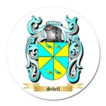 Sibell Round Car Magnet