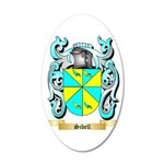 Sibell 35x21 Oval Wall Decal