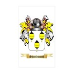 Shuttleworth Sticker (Rectangle 50 pk)