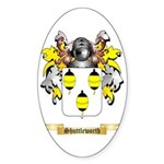 Shuttleworth Sticker (Oval 50 pk)