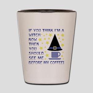COFFEE WITCH Shot Glass