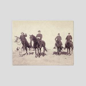 William Buffalo Bill Cody 5'x7'Area Rug
