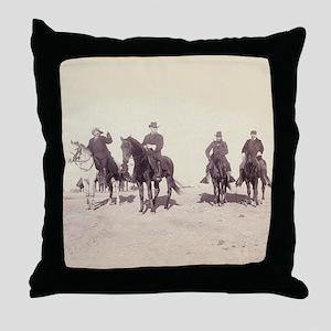 William Buffalo Bill Cody Throw Pillow
