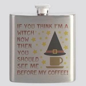 COFFEE WITCH Flask
