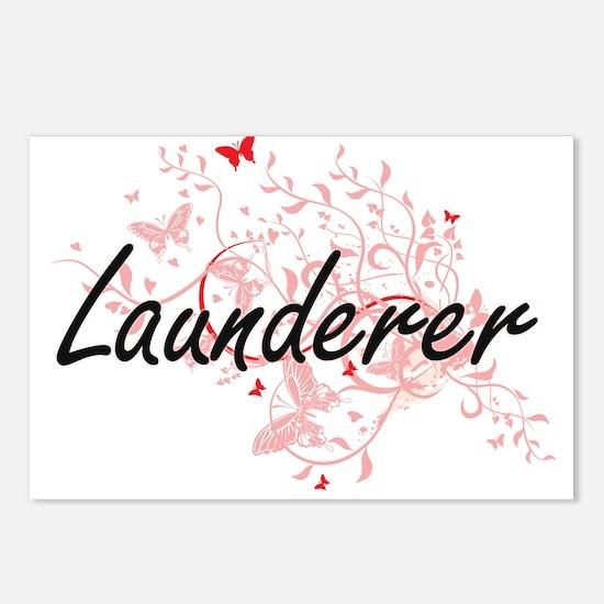 Launderer Artistic Job De Postcards (Package of 8)