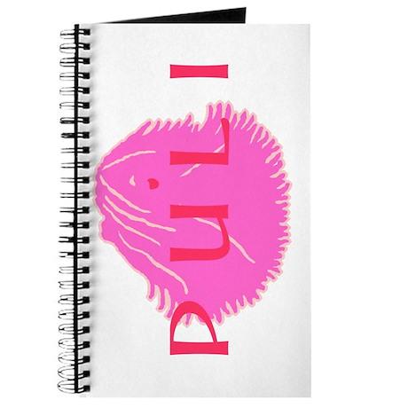 Puli Pink W/Text Journal