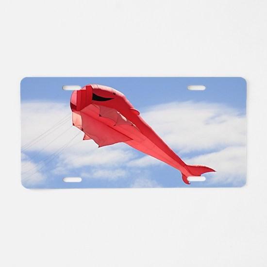 Unique Semaphore Aluminum License Plate