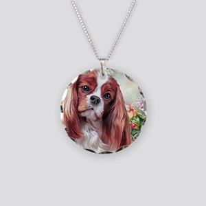 Cavalier King Charles Spaniel Painting Necklace
