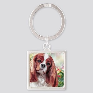 Cavalier King Charles Spaniel Painting Keychains