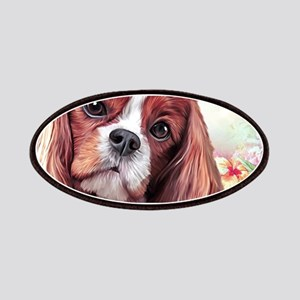 Cavalier King Charles Spaniel Painting Patch