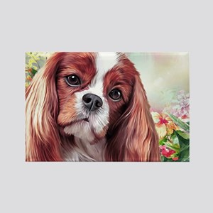 Cavalier King Charles Spaniel Painting Magnets