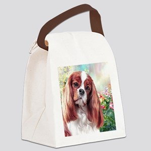 Cavalier King Charles Spaniel Painting Canvas Lunc