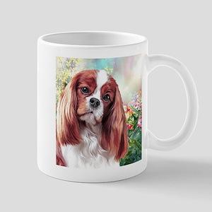 Cavalier King Charles Spaniel Painting Mugs