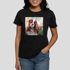 Cavalier King Charles Spaniel Painting T-Shirt