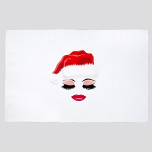 Santa's Favourite Girl. Gifts for 4' x 6' Rug