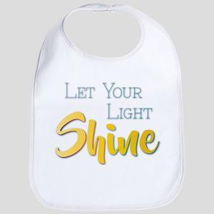 Let Your Light Shine Baby Bib