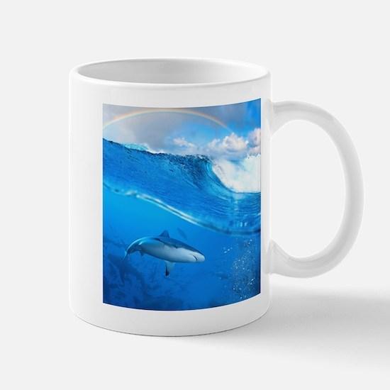 Underwater Shark Mug