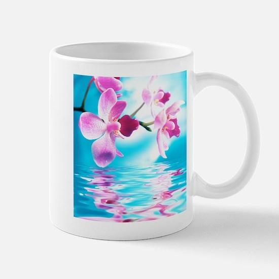 Beautiful Orchids Mug