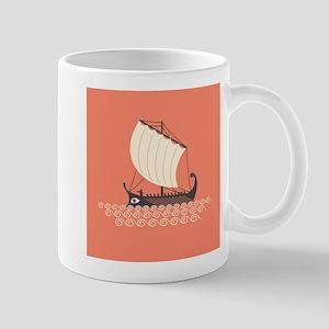 Ancient Ship Mug