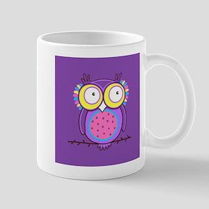 Colorful Owl Mug