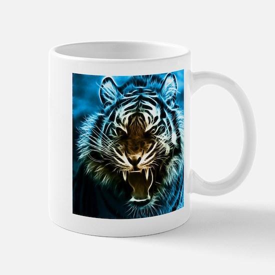 Fractal Tiger Art Mug