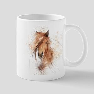 Horse Painting Mug