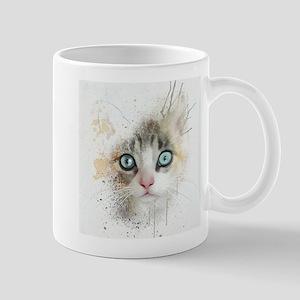 Kitten Painting Mug