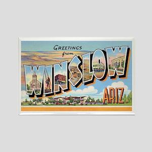 Winslow Arizona Greetings Rectangle Magnet