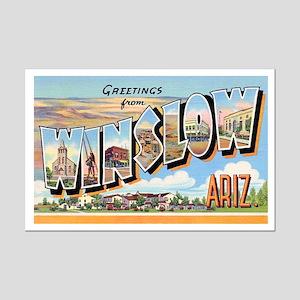 Winslow Arizona Greetings Mini Poster Print