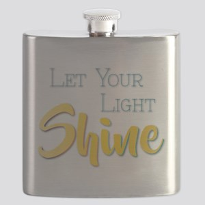 Let Your Light Shine Flask