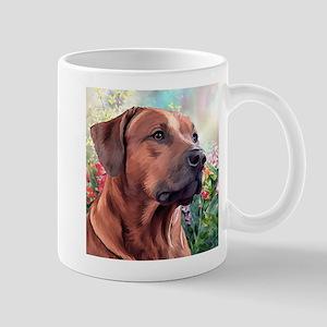 Rhodesian Ridgeback Painting Mug