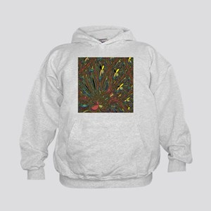 Abstract Delight Kids Hoodie