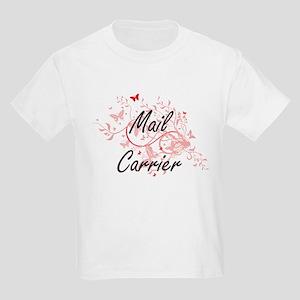 Mail Carrier Artistic Job Design with Butt T-Shirt