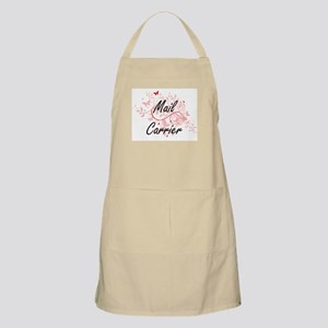 Mail Carrier Artistic Job Design with Butter Apron