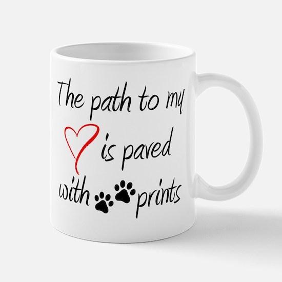 Path to my heart Mugs