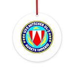 USS Mitscher (DL 2) Ornament (Round)