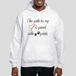Path To My Heart Mens Hoodie Hooded Sweatshirt