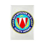 USS Mitscher (DL 2) Rectangle Magnet (100 pack)
