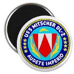 """USS Mitscher (DL 2) 2.25"""" Magnet (10 pack)"""
