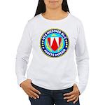 USS Mitscher (DL 2) Women's Long Sleeve T-Shirt