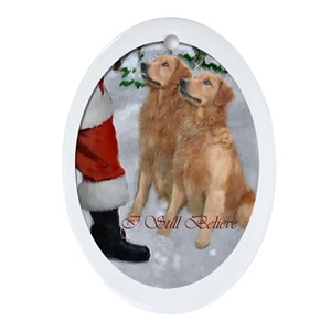 golden retriever christmas ornaments cafepress