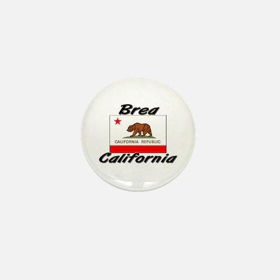 Brea California Mini Button