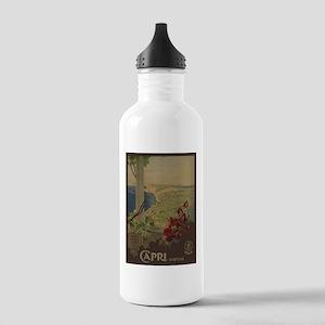 Vintage poster - Capri Stainless Water Bottle 1.0L