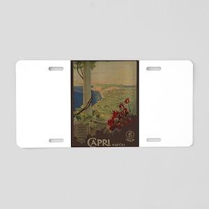 Vintage poster - Capri Aluminum License Plate