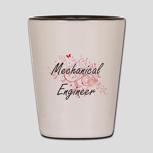 Mechanical Engineer Artistic Job Design Shot Glass