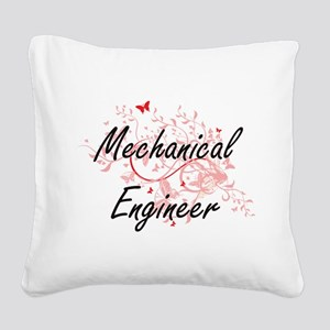 Mechanical Engineer Artistic Square Canvas Pillow