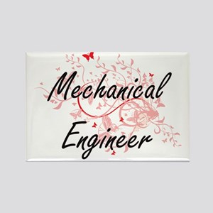 Mechanical Engineer Artistic Job Design wi Magnets