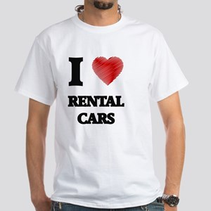 I Love Rental Cars T-Shirt
